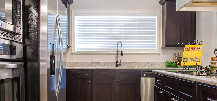 Photograph of some new home features in a kitchen in South Pointe a Gainesville, FL community.