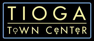 Tioga Town Center logo.